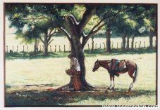 Campesino y su caballo