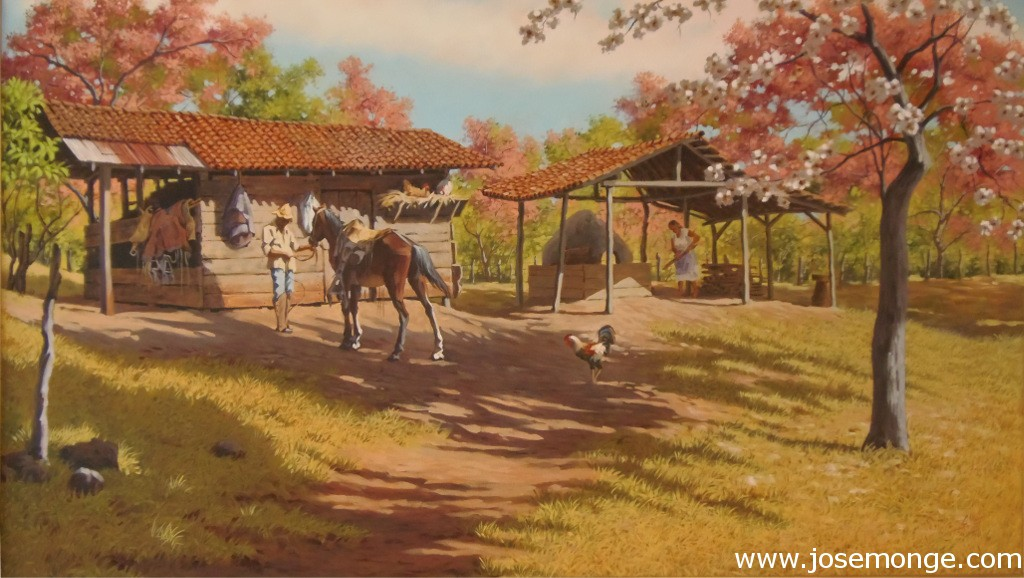 Jinete y su caballo